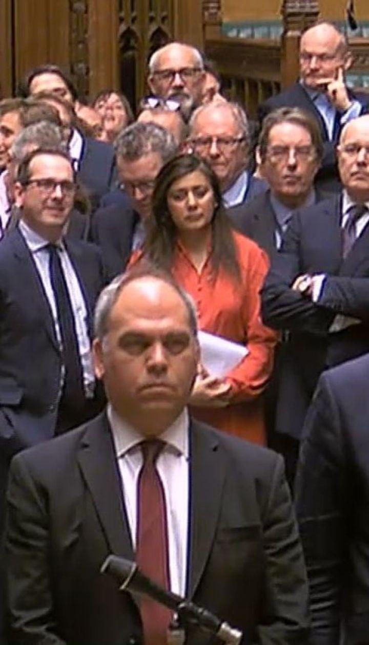 Парламент Британії проголосував проти реалізації Brexit без угоди