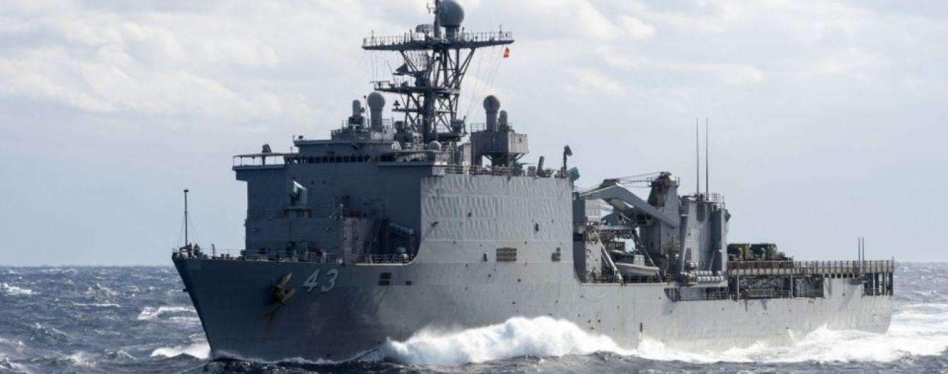 Росія провела навчання з перекидання морем бронетранспортерів