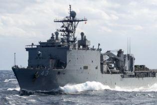 Россия провела учения по переброске морем бронетранспортеров