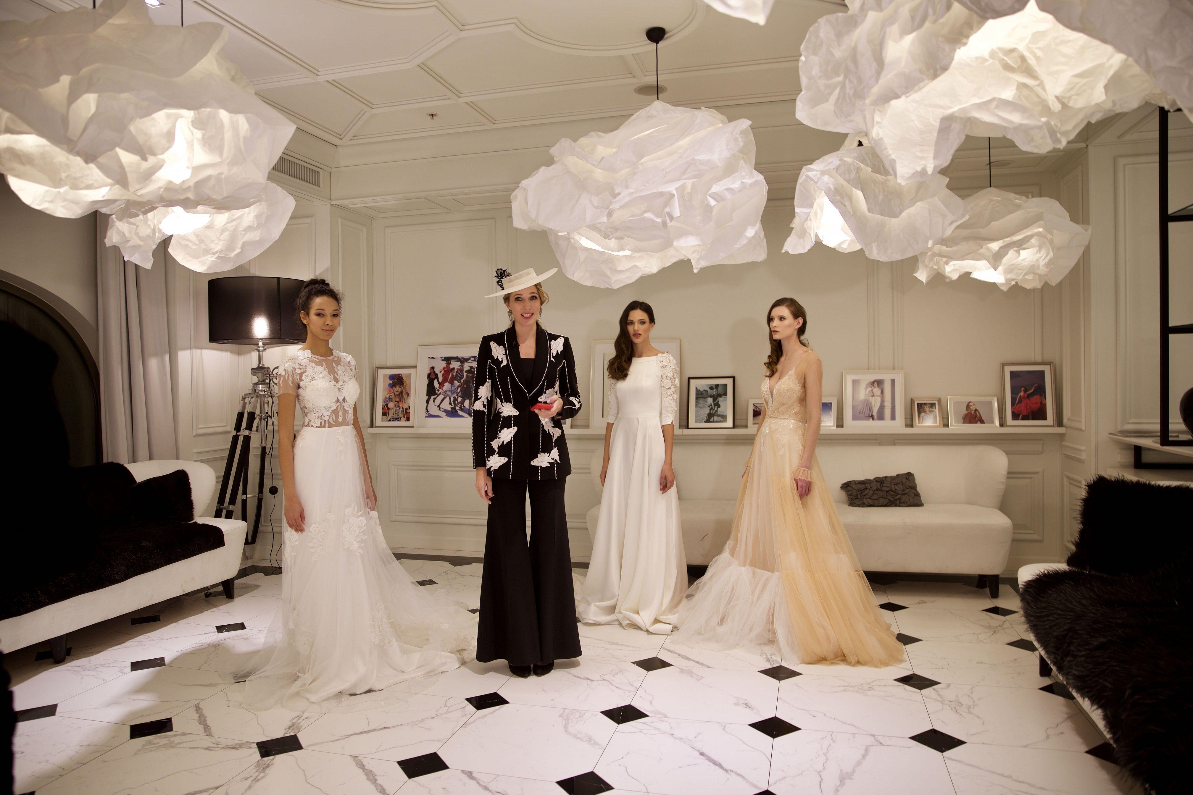 Презентация свадебных платьев от Андре Тана_10