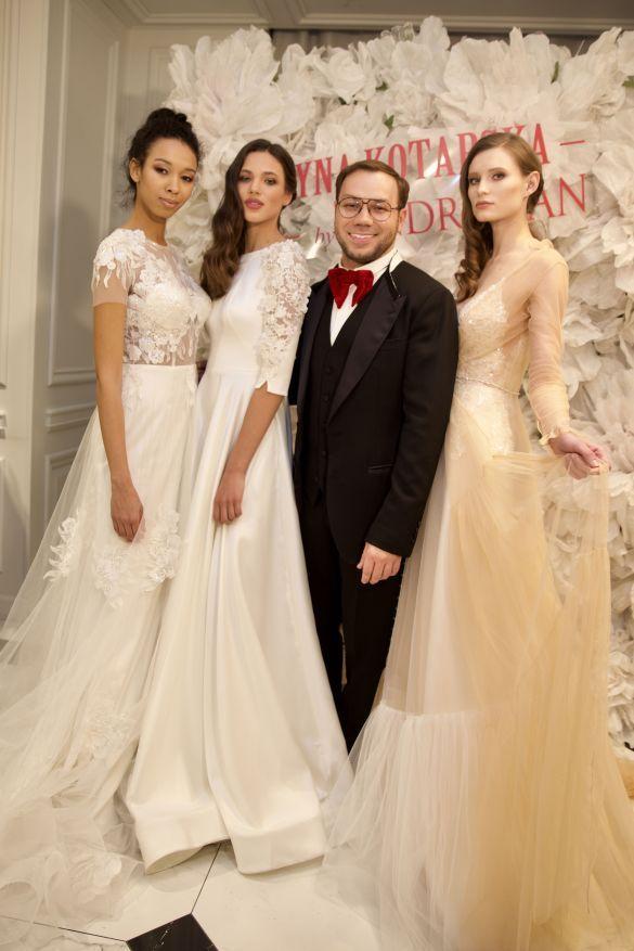 Презентация свадебных платьев от Андре Тана_1
