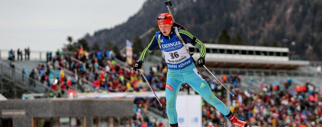 """Абрамова виграла """"золото"""" у спринті на етапі Кубка IBU в Італії"""
