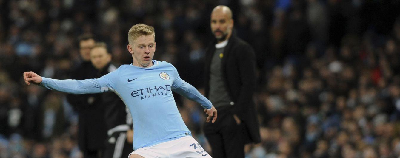 """Лучший игрок месяца в """"Манчестер Сити"""" Зинченко рассказал о советах от Пепа и расхвалил свой стиль"""