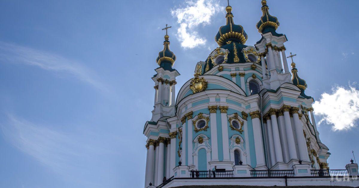 Після п'яти років реставрації у грудні Андріївська церква стане доступною для відвідувачів