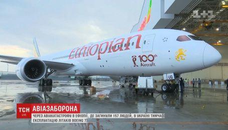 Україна тимчасово закрила небо для Boeing 737 MAX