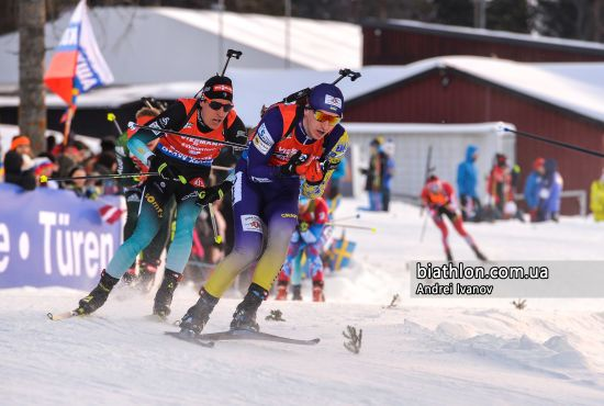 Збірна України фінішувала в топ-5 одиночної змішаної естафети на Чемпіонаті світу