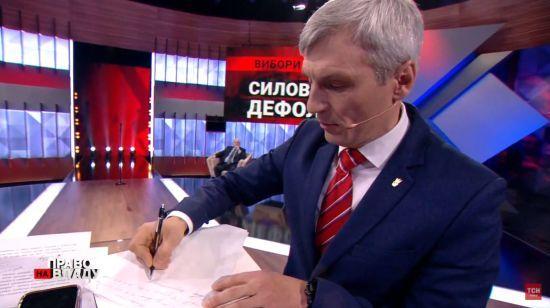 Ще один кандидат у президенти підписав меморандум про чесні вибори