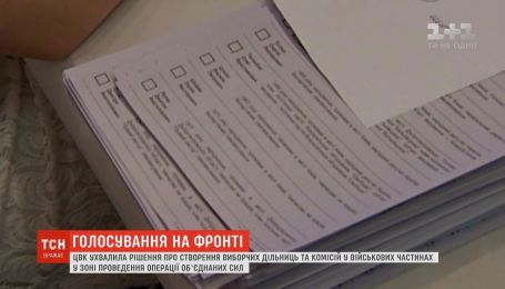 В зоне проведения ООС создадут избирательные участки и комиссии