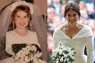 Маленька і велика наречена: принцеса Євгенія поділилася милим знімком