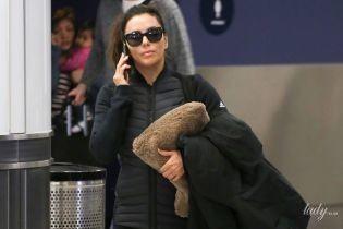 Без макіяжу і в спортивному: іменинниця Єва Лонгорія потрапила в об'єктиви папараці