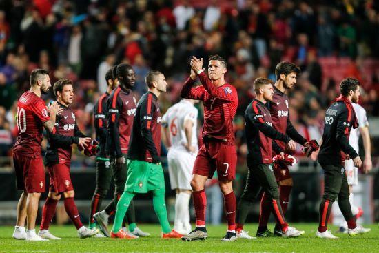 Із Роналду. Збірна Португалії оголосила склад на матч з Україною у відборі на Євро-2020