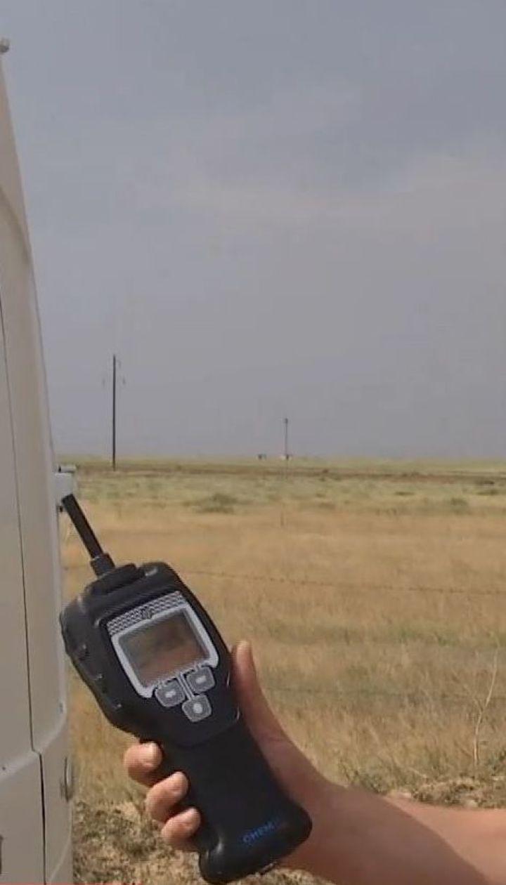 На півночі Криму в повітрі знову зафіксували викиди хімічних речовин