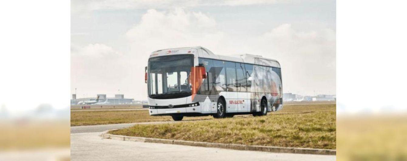 Брюссель закупил 30 китайских электробусов BYD для аэропорта