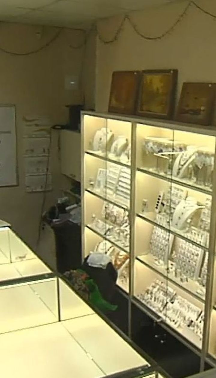 У Борисполі пограбували ювелірний магазин на 5 млн гривень