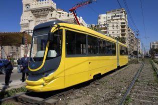В Египте запустили украинский трамвай с Wi-Fi и кондиционером