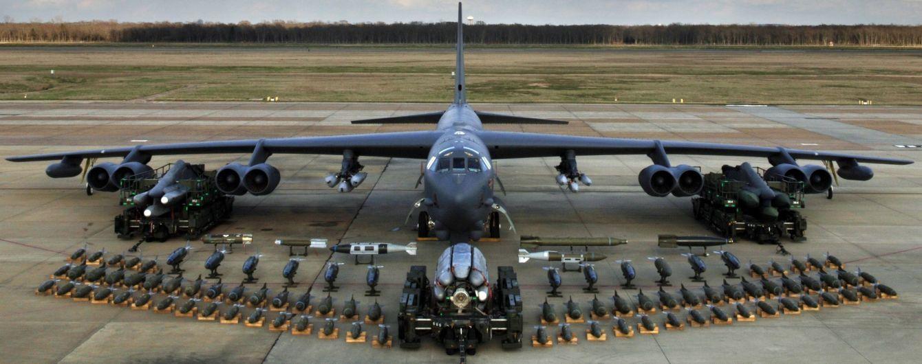"""США перебросили в Европу """"ядерные"""" бомбардировщики B-52H Stratofortress"""