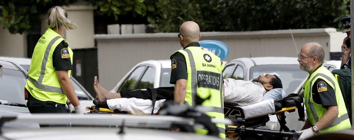 Кількість жертв стрілянини в мечетях у Новій Зеландії зросла до 50
