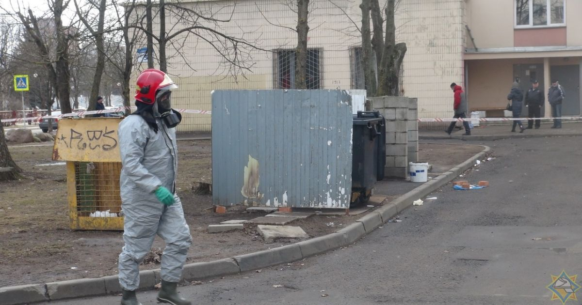 В Мінську на смітнику знайшли відро з радіоактивним ураном