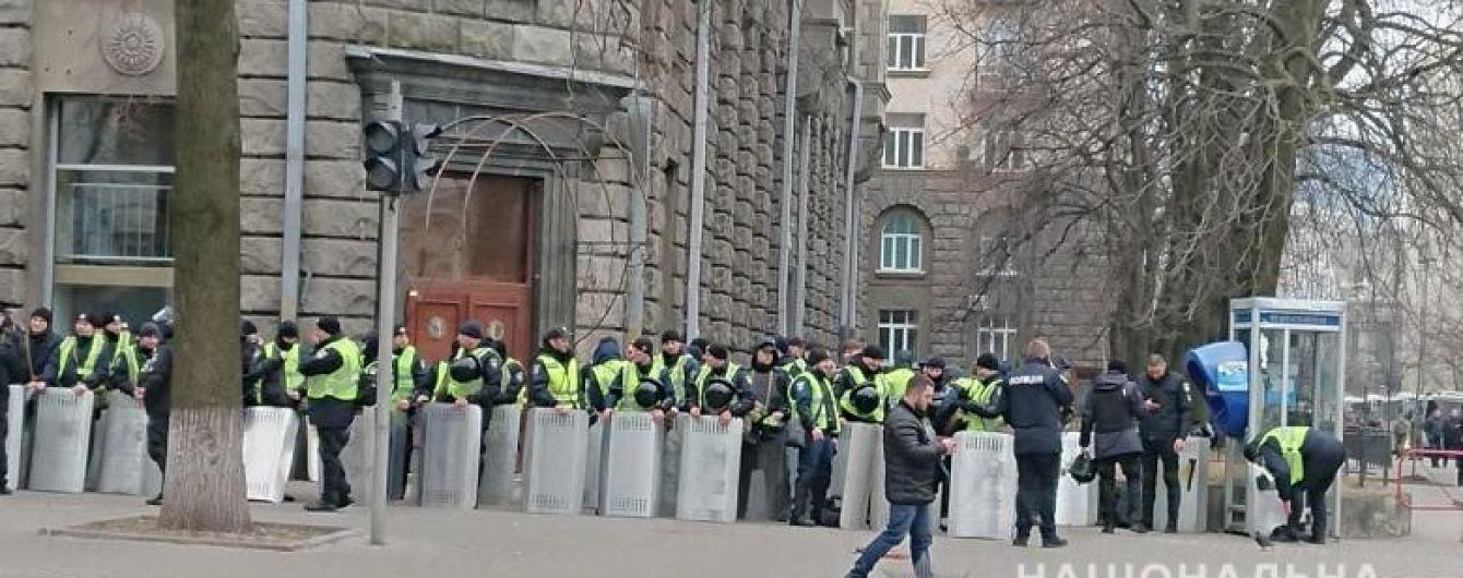 """Масштабна акція """"Нацкорпусу"""": до центру столиці стягують тисячі правоохоронців"""