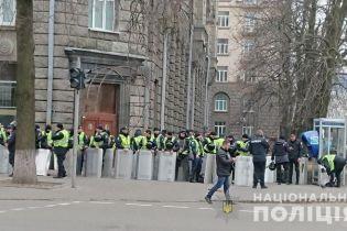 """Масштабная акция """"Нацкорпуса"""": к центру столицы стягивают тысячи правоохранителей"""