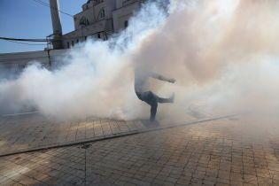 В Албании вспыхнули антиправительственные протесты, активисты пытались штурмовать парламент