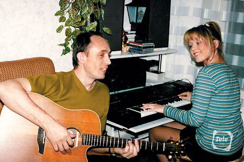 Юлія Началова з батьком