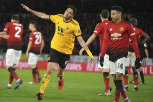 """""""Вулверхемптон"""" сенсаційно переміг """"Манчестер Юнайтед"""" та вийшов до півфіналу Кубка Англії"""