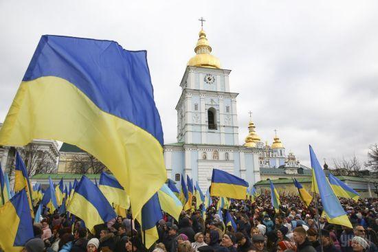 Правоохоронці затримали двох чоловіків під час виступу Порошенка у Києві