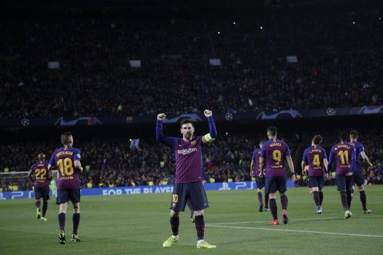 """""""Барселона"""" розгромила """"Бетіс"""", Мессі оформив хет-трик"""