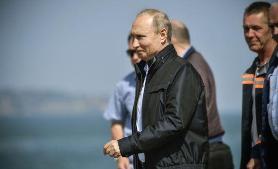 Путін урочисто святкуватиме порушення меж України в окупованому Криму
