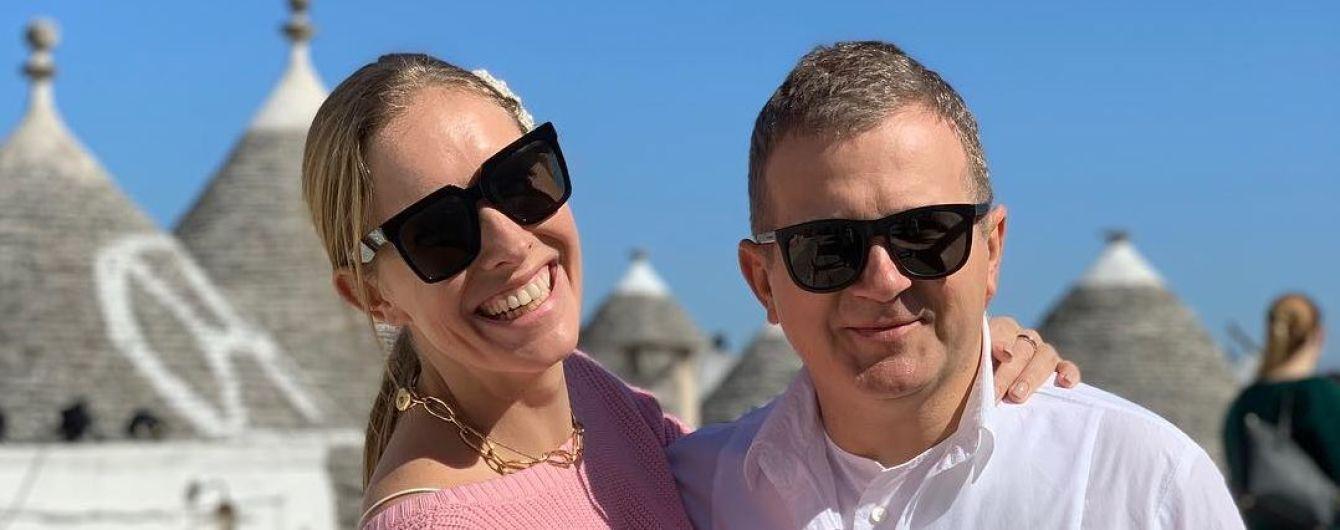Закохані та щасливі Осадча та Горбунов показали, як відпочивають у сонячній Італії