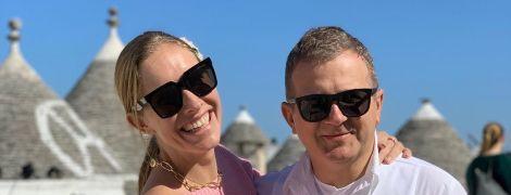 Влюбленные и счастливые Осадчая и Горбунов показали, как отдыхают в солнечной Италии
