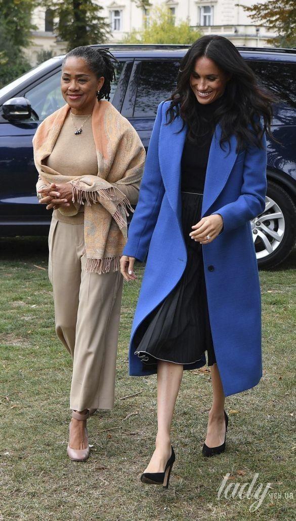 Герцогиня Меган и ее мама Дориа