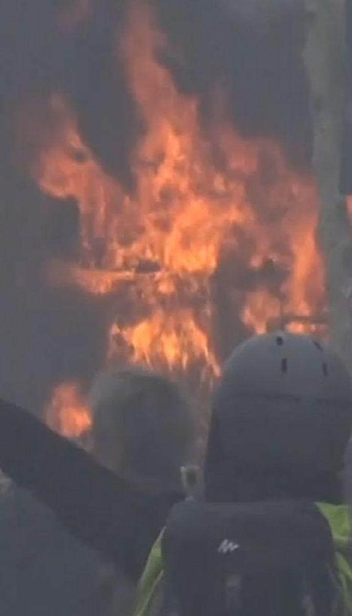 """""""Жовті жилети"""" пошкодили у Парижі щонайменше 80 магазинів та ресторанів"""