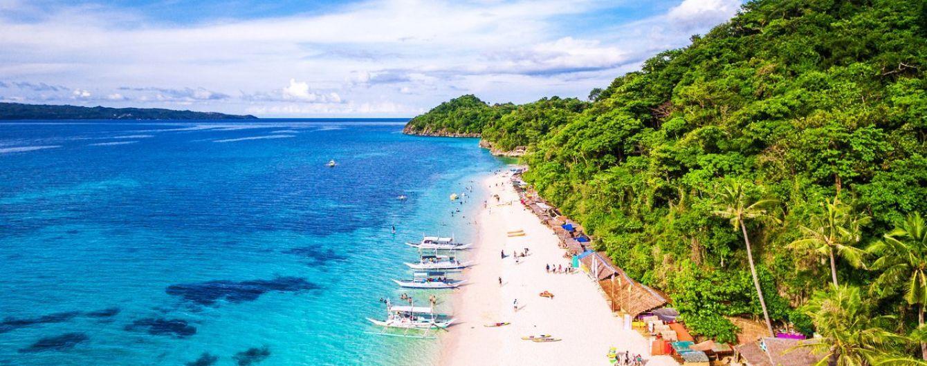 На Філіппінах відкриють райський острів для туристів і введуть штрафи