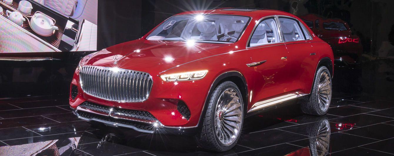 Mercedes-Maybach випустить серійний кросовер за $200 тисяч