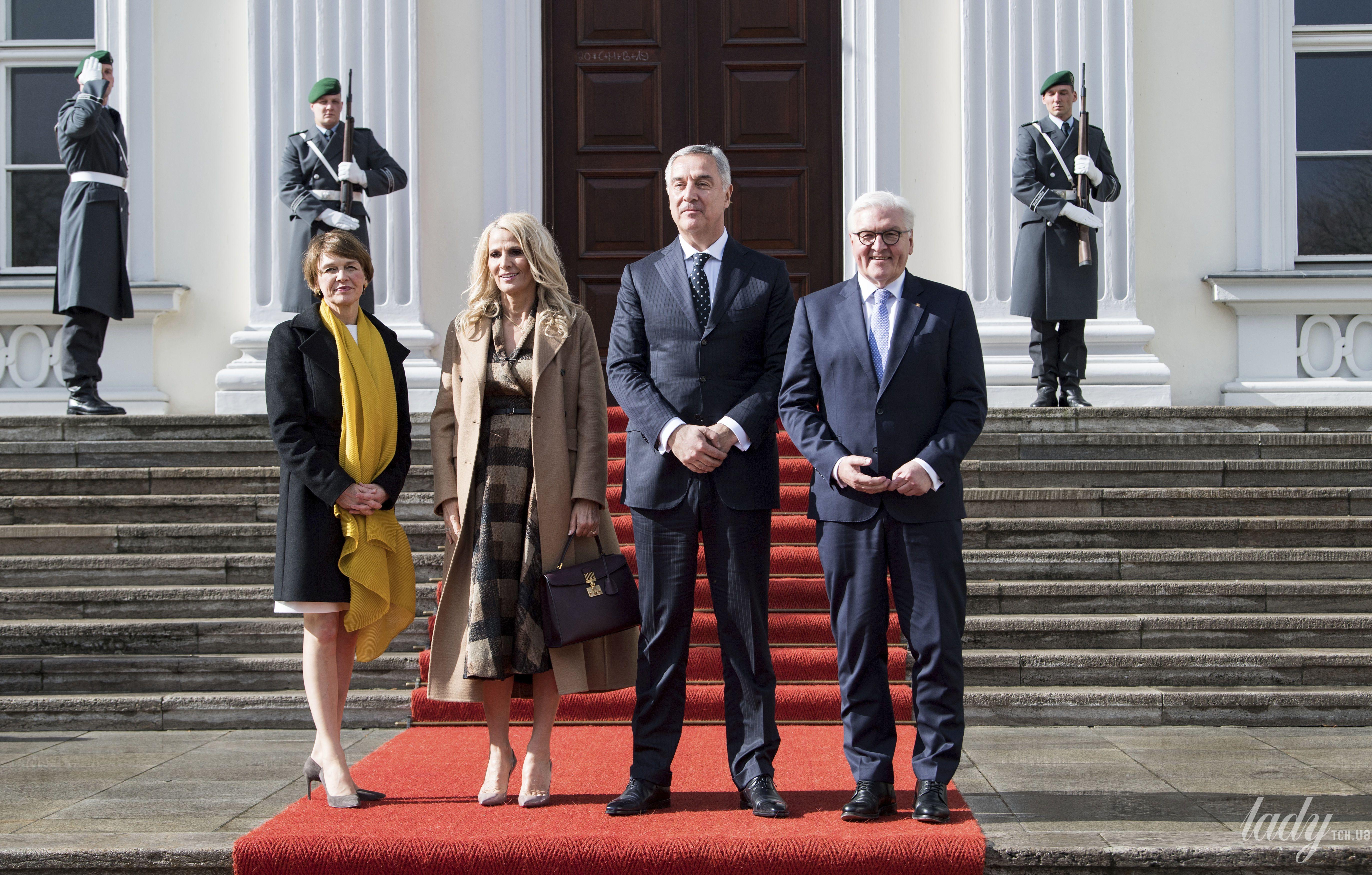 Первые леди Германии и Черногории