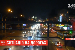 Через ремонт на Шулявці проспект Перемоги зупинився в 6-кілометровому заторі