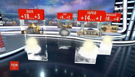 В Украину придет атмосферный фронт, который принесет осадки и похолодание