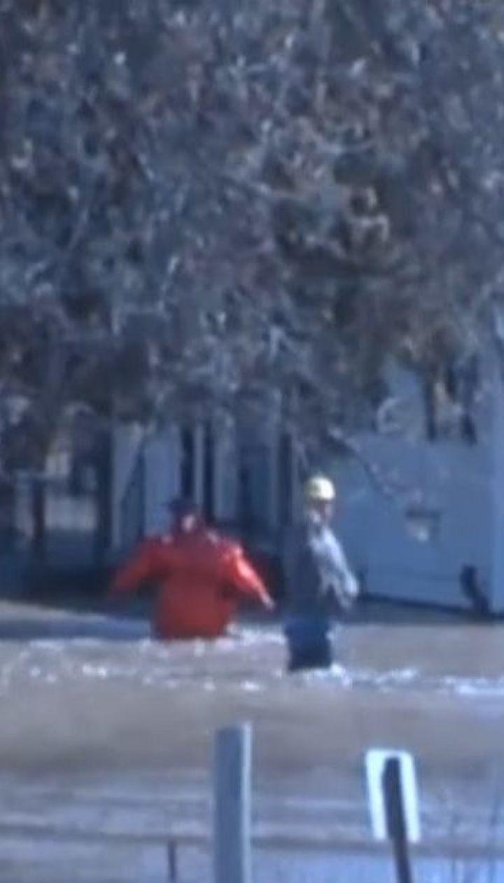 Американський штат Небраска через сильні зливи опинився під водою