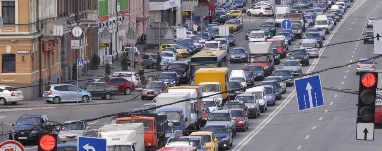 Київ опинився в десятці світових міст із найбільшими заторами