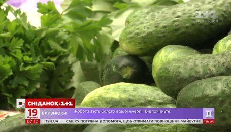 В Украине дешевеют огурцы - Экономические новости