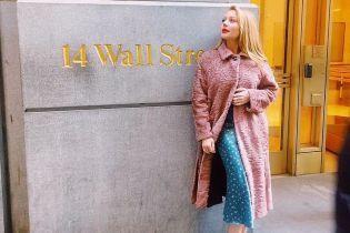 В меховом пальто и лодочках: Тина Кароль поделилась радостной новостью из Нью-Йорка