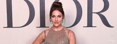 """В красивом прозрачном платье: звезда """"Великолепного века"""" посетила кутюрный показ Dior"""