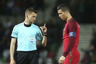 Французький юрист обслужить матч Португалія - Україна
