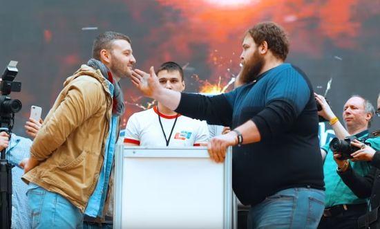 У Росії визначили чемпіона з давання ляпасів