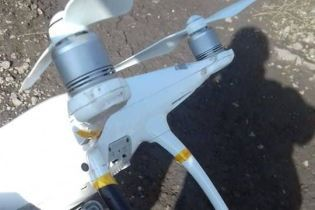 Военные на Донбассе сбили ударный беспилотник боевиков