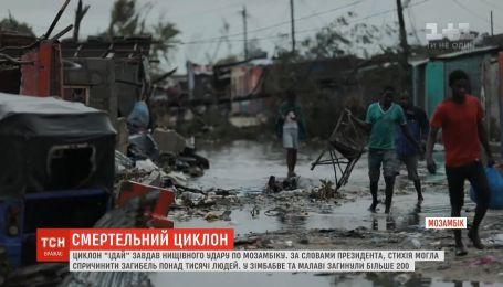 """Жертвами циклону """"Ідай"""" в Мозамбіку стали більше тисячі людей"""