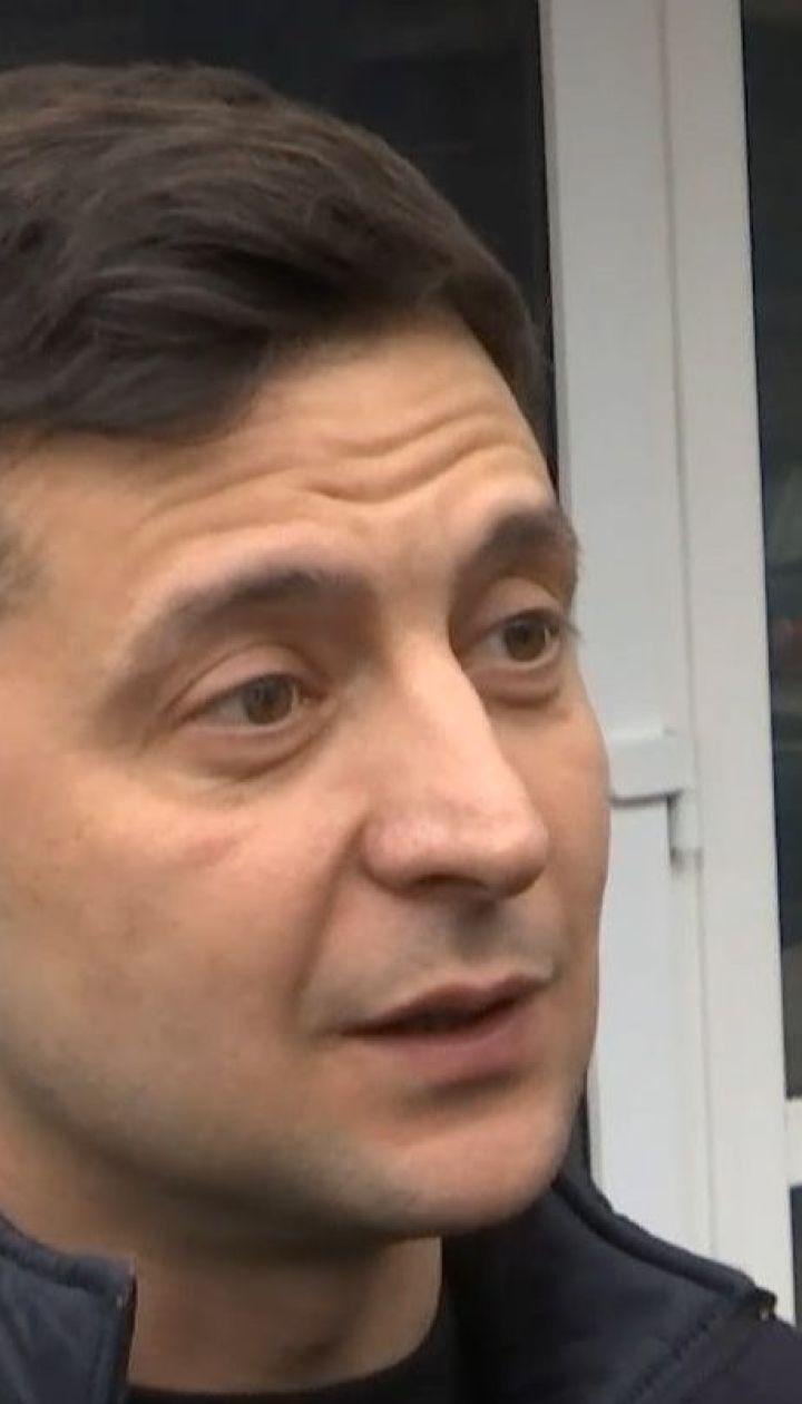 Володимир Зеленський дав свідчення у Національній поліції щодо стеження за ним