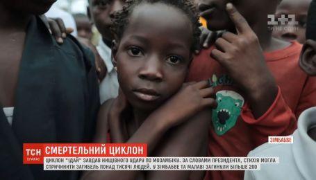 """Знищений внаслідок циклону """"Ідай"""" урожай загрожує Мозамбіку голодом"""